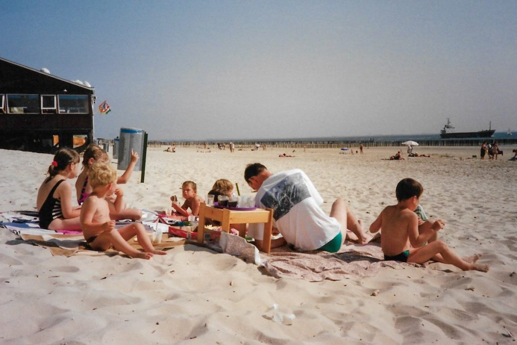 Vroeger strand 1
